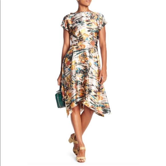 Anthropologie  Eva Franco Amara Floral Dress 588f212ce